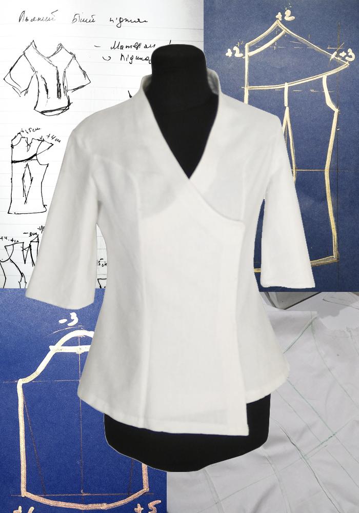 Блуза – історія пошиття