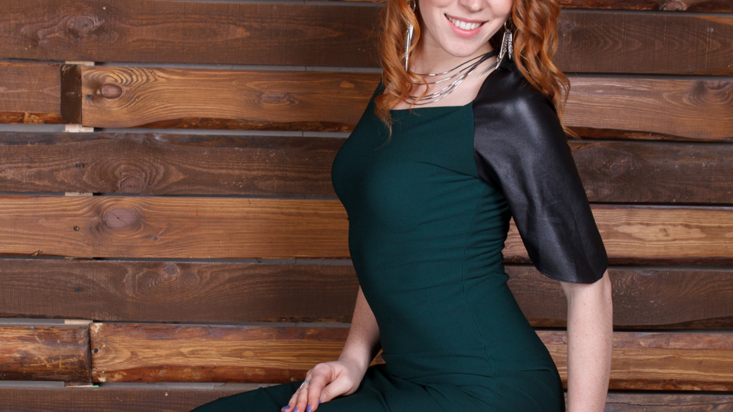 Базова схема основа для трикотажної сукні
